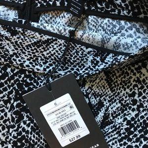Who What Wear Skirts - SEXY ❤️ SZ 6 PENCIL SKIRT SLIT SNAKE PRINT NWT